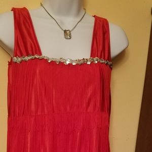 1920s inspired flapper costume